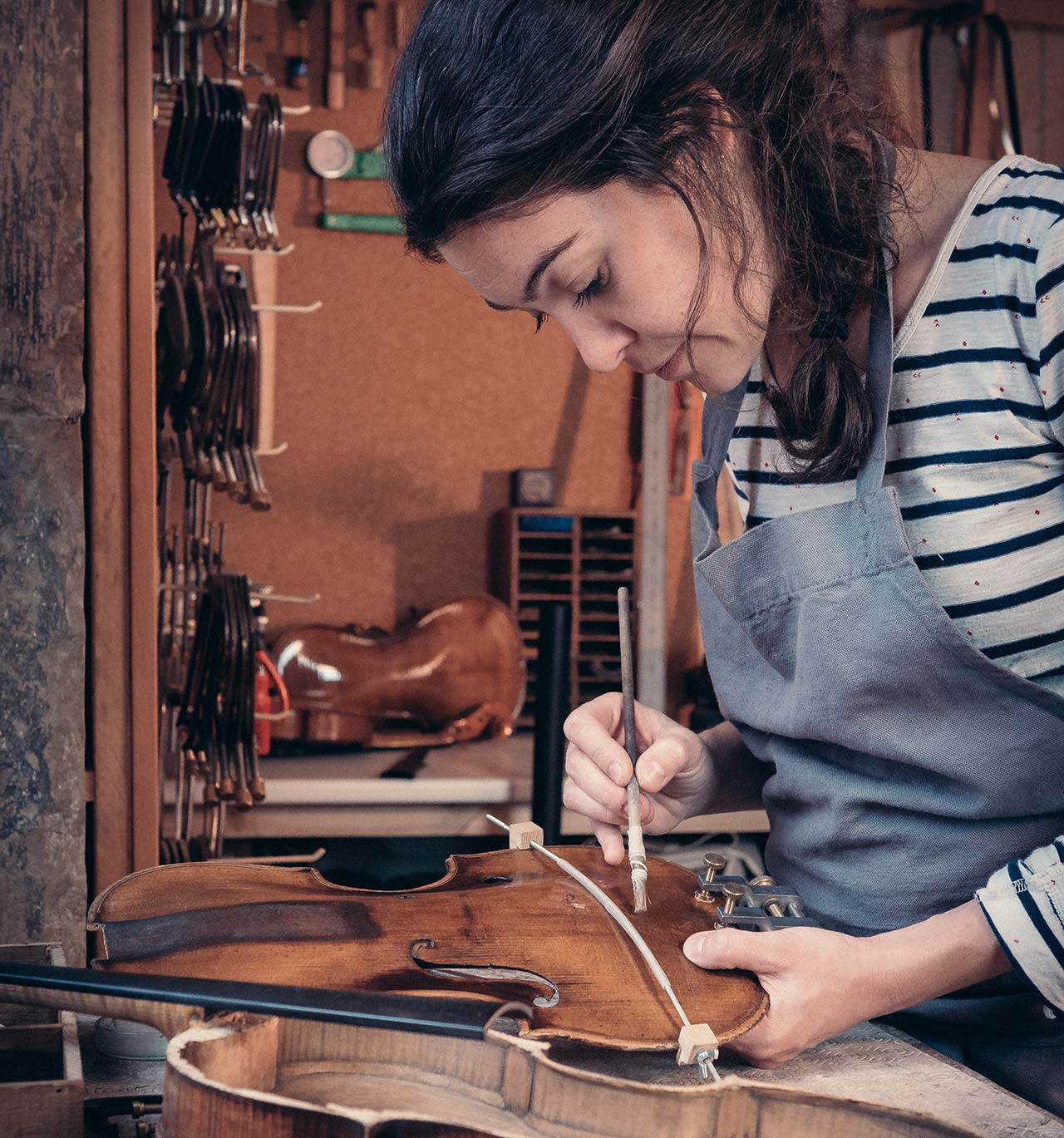 restauration violon instrument musique la roche sur foron 3 - Restauration - Luthier à la Roche Sur Foron
