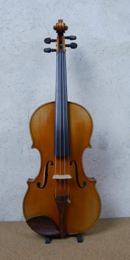 F547 2 256x512 - Violon Francais, G. Apparut Copie de Charotte-Millot - Luthier à la Roche Sur Foron