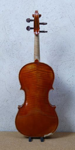 H010R 3 256x512 - Violon Hongrois, vers 1940, inspiration Italienne - Luthier à la Roche Sur Foron