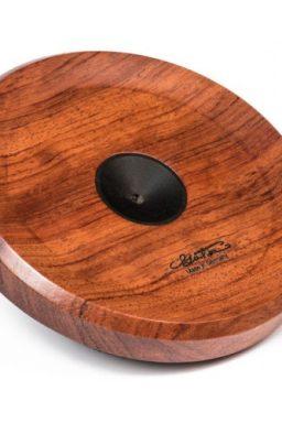 socle arret de pique violoncelle cello gotz extra slim bois guibourtia 256x384 - Cale-pique Violoncelle - Luthier à la Roche Sur Foron
