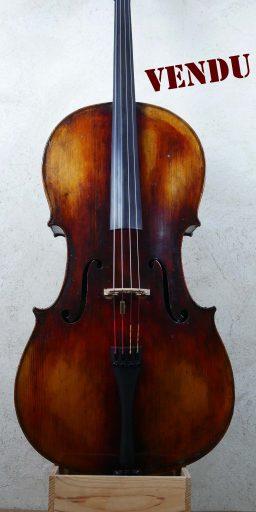 DPV242 33 256x512 - Violoncelle Français ancien,  JTL en copie de Guarneri - Luthier à la Roche Sur Foron
