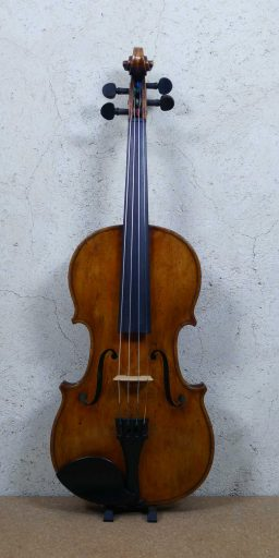 501050 2 256x512 - Violon d'étude année 90 vernis patiné - Luthier à la Roche Sur Foron