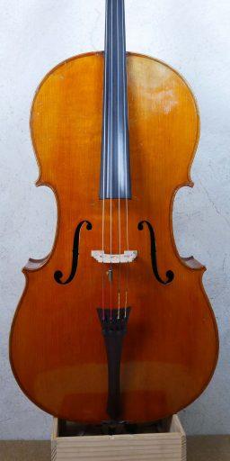 DPV253 1 256x512 - Violoncelle Français début XXème - Luthier à la Roche Sur Foron