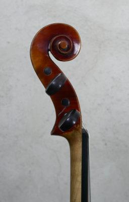 DPV258 5 256x399 - Violon de Charles Bailly 1945 - Luthier à la Roche Sur Foron