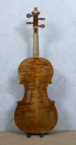 P1060494 256x489 - Violon de Frebrunet XVIIIème - Luthier à la Roche Sur Foron