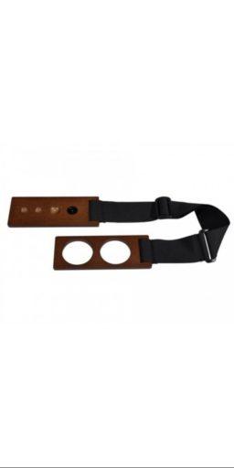 """cale pique artino planche noyer 1 256x512 - Cale-pique / Support de pique pour Violoncelle """"ARTINO"""". - Luthier à la Roche Sur Foron"""