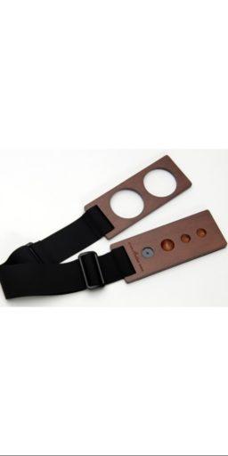 """cale pique artino planche noyer 2 256x512 - Cale-pique / Support de pique pour Violoncelle """"ARTINO"""". - Luthier à la Roche Sur Foron"""