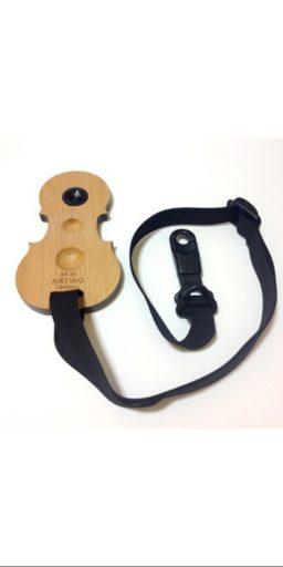 """cale pique forme cello 2 1 256x512 - Cale-pique/Support de pique pour  Violoncelle, """"Forme Violon"""" ARTINO - Luthier à la Roche Sur Foron"""