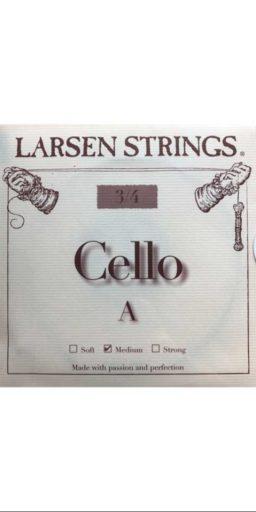 Jeu 3 4 cello Larsen medium 256x512 - Cordes - Larsen Strings - Luthier à la Roche Sur Foron