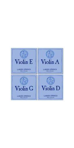 Larsen Violon 1 256x512 - Cordes - Larsen Strings - Luthier à la Roche Sur Foron