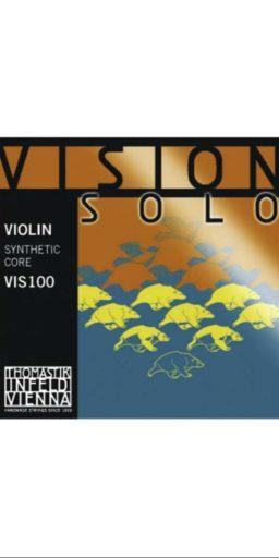 jeu Vision SOLO Violon 256x512 - Vision SOLO - Thomastik - Luthier à la Roche Sur Foron