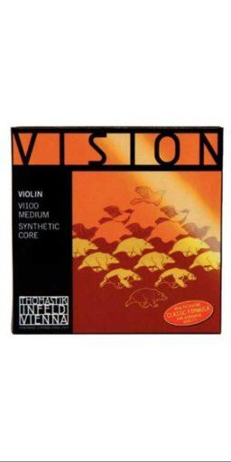jeu Vision Violon 1 256x512 - Cordes violon Vision -Thomastik - Luthier à la Roche Sur Foron