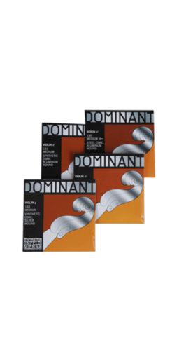 jeu dominante violon 256x512 - Cordes Dominant- Thomastik. - Luthier à la Roche Sur Foron