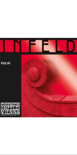 thomastik infeld rouge pour violon 256x512 - Cordes Violon Infeld- Thomastik - Luthier à la Roche Sur Foron