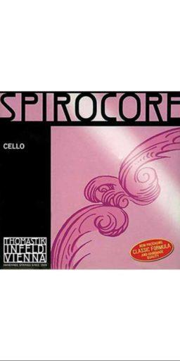 thomastik spirocore do 256x512 - Cordes Spirocore pour Violoncelle - - Luthier à la Roche Sur Foron