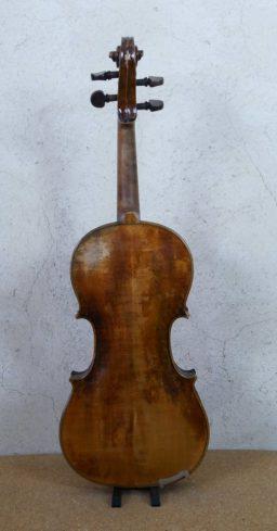 AR00533 3 256x489 - Violon Allemand en copie début XXème - Luthier à la Roche Sur Foron