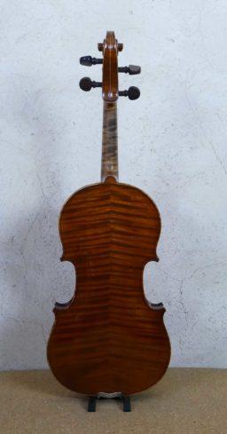 DPV277 2 256x489 - Violon Silvestre et Maucotel à Paris - Luthier à la Roche Sur Foron