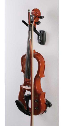 support violon avec archet 256x512 - Support mural à Violon & archet. - Luthier à la Roche Sur Foron