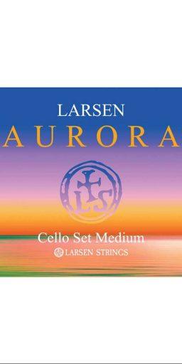 larsen aurora cello medium Jeu 256x512 - Larsen AURORA pour Violoncelle. - Luthier à la Roche Sur Foron
